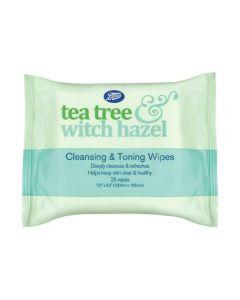 Tea Tree & Witch Hazel face wipes 25s