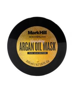 Mark Hill Limited Edition 24k Gold Mask