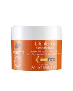 Boots Vitamin C Sleeping Mask nattmaske 50 ml