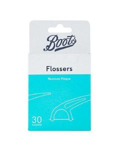 Boots Mint Disposable Flossers 30 stk