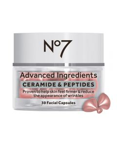 No7 Advanced Ingredients CERAMIDE & PEPTIDES Facial Capsules 30stk