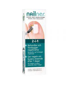Nailner Pensel mot neglesopp 2-i-1 5 ml