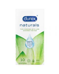 Durex Naturals kondomer, 10stk