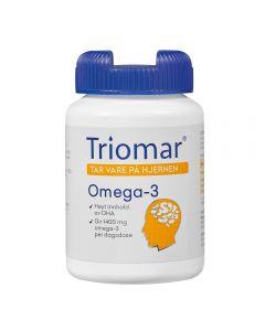 Triomar Hjerne Omega-3 Kaps 80 stk