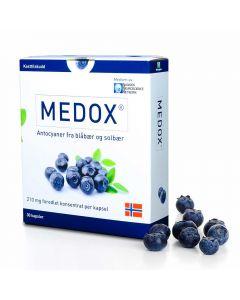 Medox Antocyaner Kaps 80 mg 30 stk