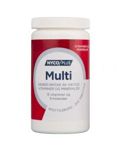 Nycoplus Multivitamin Tabletter 200 stk
