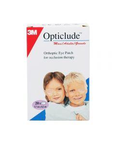Opticlude Øyelapp Maxi 20 stk