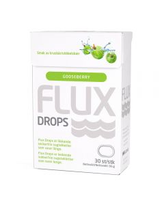 Flux Drops Stikkelsbær 30 stk