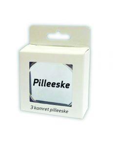 Pilleboks 3-Kamret 1 stk