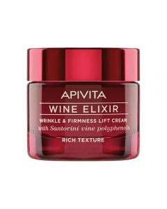 APIVITA WINE ELIXIR RENEWING LIFT nattkrem 50 ml