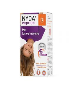 Nyda Express lusemiddel 50 ml