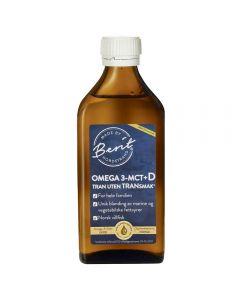 Berit Nordstrand tran m/Omega 3, MCTog vitamin D 250 ml