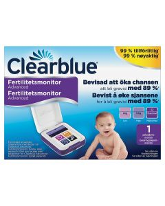 Clearblue Advanced fertilitetsmonitor 1 stk