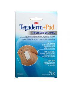 Tegaderm +Pad Vannt Kompr 5X7 5 stk