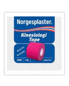 Norgespl Kinesiolog Rosa 5Cx5M 1 stk