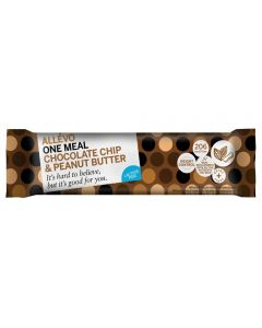 Allévo Lcd One Meal chocolate chip & peanut butter bar 56g