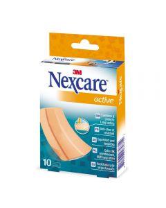 Nexcare Active Plaster 10Ark 1 stk