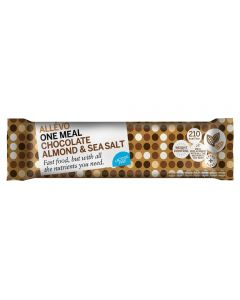 Allévo Lcd One Meal chocolate almond & sea salt bar 57g