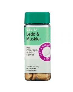 Gevita Ledd&Muskler 60 stk tabletter