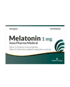 Melatonin 1 mg kapsler, 30 stk