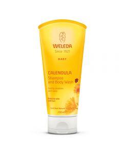 Calendula Shampoo & Body Wash 200 ml