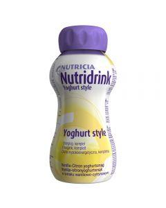 Nutridrink Yoghurt Sty Van/Sit 4X200 ml