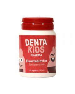 DentaKids Pharma Fluortabletter Jordbær 150stk