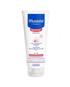 Mustela soothing moisturiz lotion 200 ml