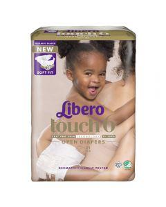 Libero Touch 6 Åpen bleie 13-20kg