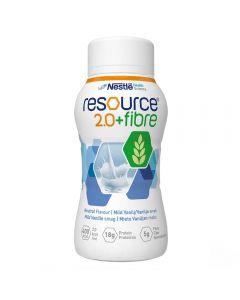 Resource 2,0+Fibre Vanilje 4X200 ml