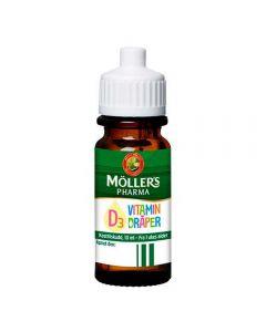 Möller's Pharma D3-vitamin dråper 10ml