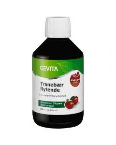 Gevita Tranebær Flytende 250 ml