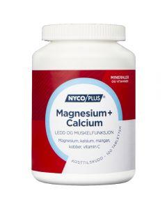 Nycoplus Magnesium+Calcium Tabletter 100 stk