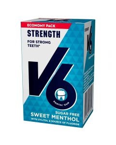 V6 Strong Teeth Sweet Menthol 70G