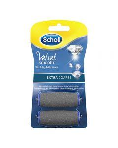 Scholl Velvet Ext Coarse Refil 2 stk