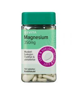 Gevita Magnesium 350 mg 150 stk tabletter