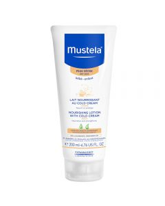Mustela nourishing lotion w/cold cream 200 ml