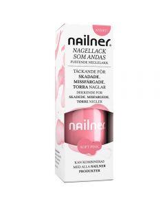 Nailner neglelakk soft pink 8 ml