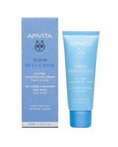 Apivita aqua beelicious oil free creme gel 40 ml