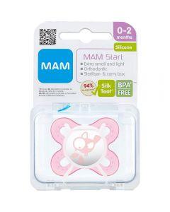 Mam Narresm Start Silk Pink0-2 1 stk