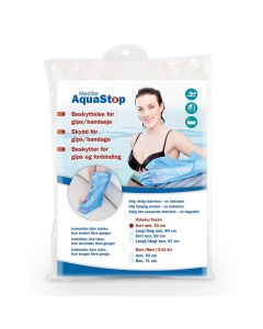 Aquastop dusjbeskyttelse til voksen arm kort