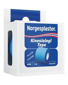 Norgespl Kinesiologi Blå 5Cx5M 1 stk