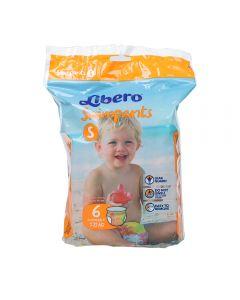 Libero Swimpants S 6 stk