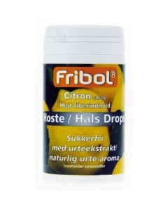 Fribol Sukkerf Host/Hals Sitro 60G
