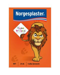 Norgespl Barnepl Dyrepark 20 1 stk