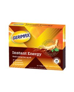 Gerimax Instant Energy Tab 30 stk