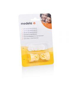 Medela 2 Ventiler + 6 Membran 1 stk
