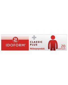 IDOFORM Classic Plus melkesyrebakterier kapsler 20 stk