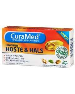 Curamed Hoste & Hals Rød 20 stk
