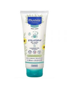 Mustela Stelatopia cleansing gel 200 ml